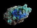 mineral-azurita